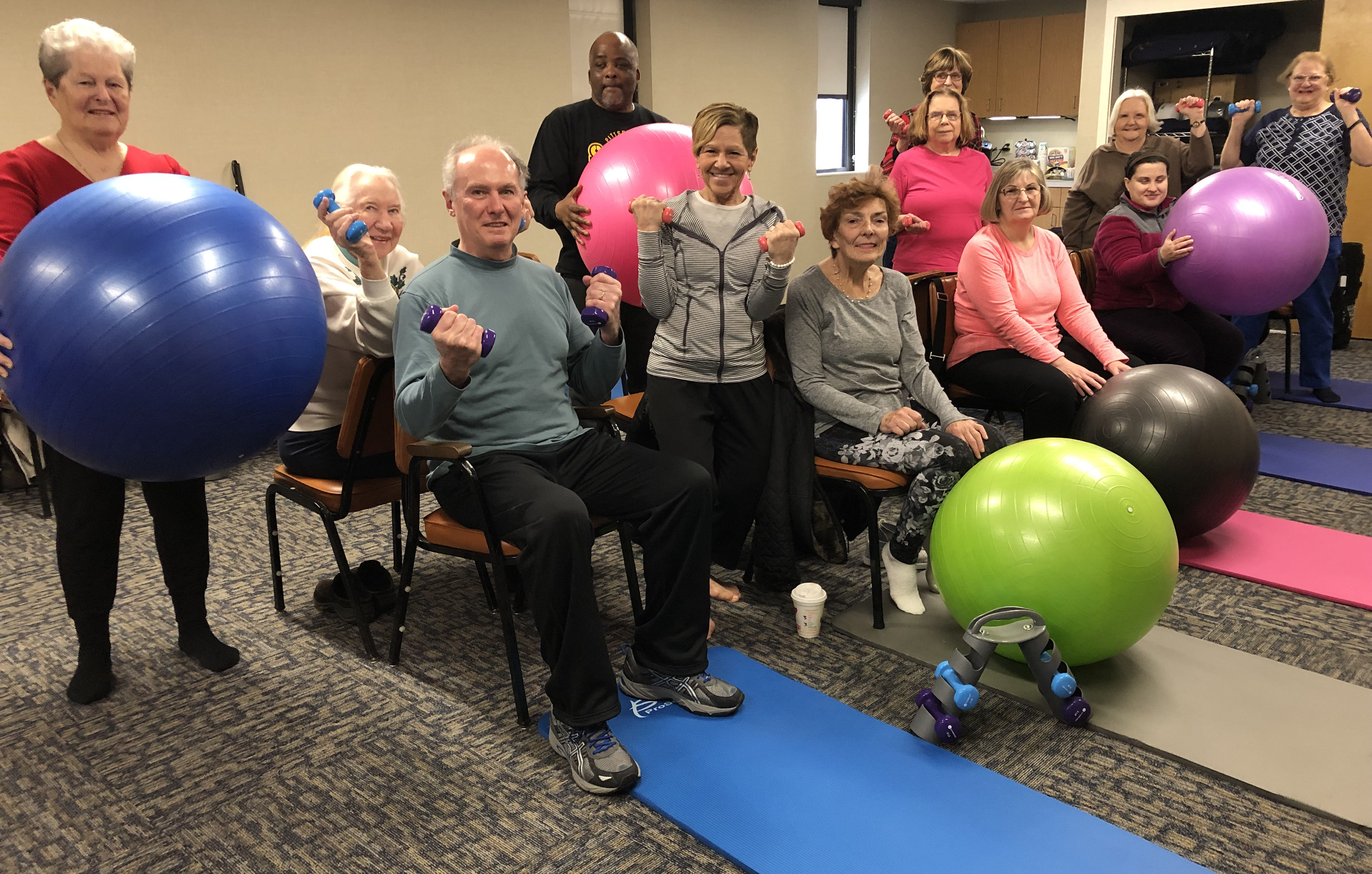 Banknewport Helps Yoga Program In Sight