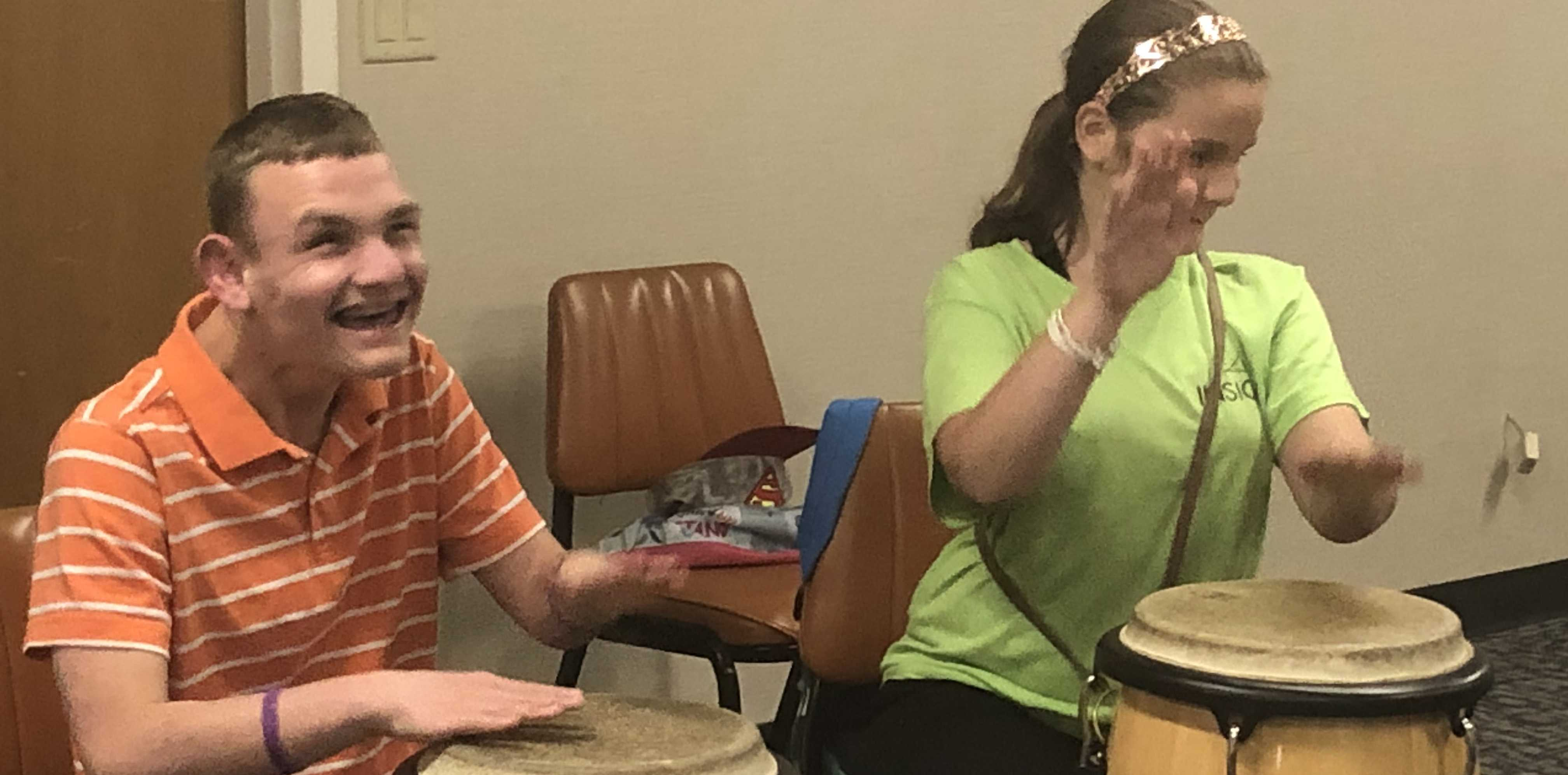 Monday, July 16, 2018: Drumming and Bowling - In-Sight